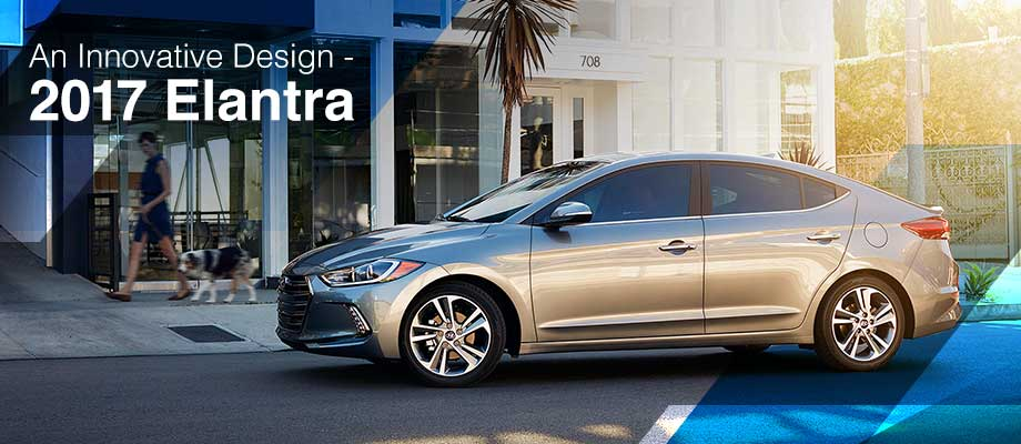 The 2017 Elantra is available at Crown Hyundai near Clearwater