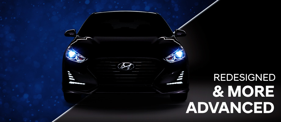 The 2018 Sonata is available at Crown Hyundai in St. Petersburg