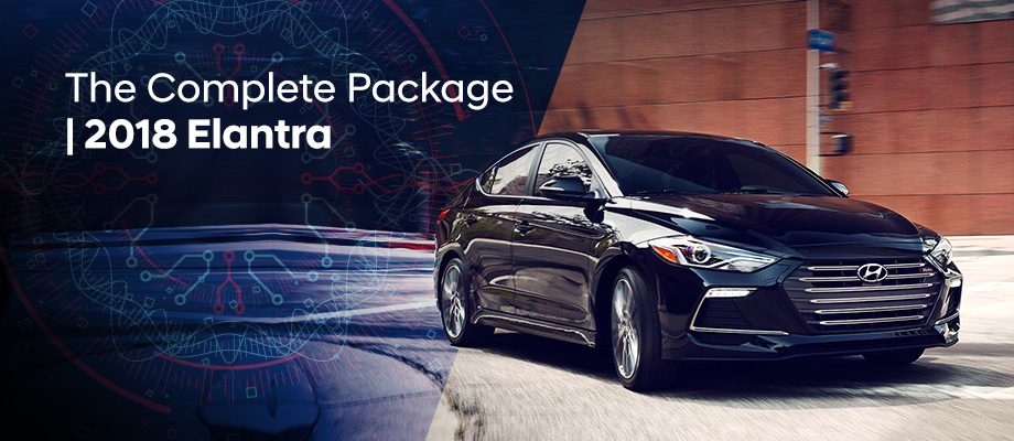 The 2018 Hyundai Elantra is available at Crown Hyundai in St. Petersburg