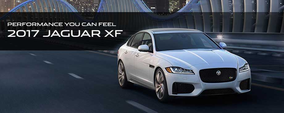 Performance You Can Feel - 2017 Jaguar XF