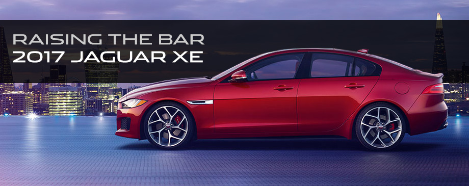 The 2017 XE is available at Crown Jaguar near Clearwater