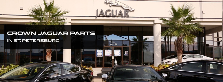 Crown Jaguar Parts Department in St. Petersburg near Tampa Bay