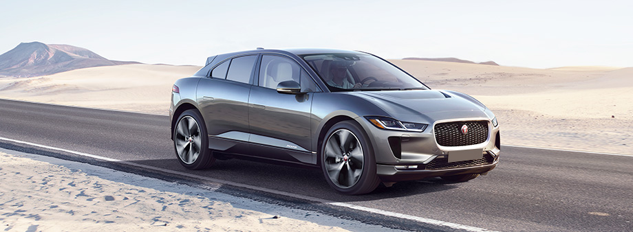 Exterior Of The 2019 Jaguar I Pace At Crown In St Petersburg Near