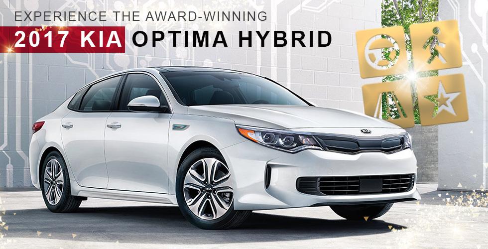 Award Winning 2017 Kia Optima Hybrid Crown St Petersburg Fl