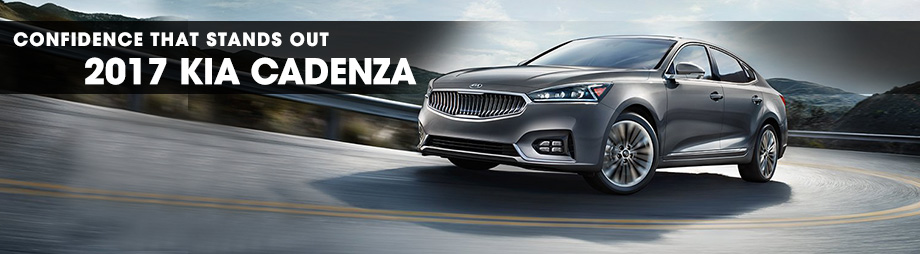 Exterior of the 2017 Cadenza at Crown KIA of Dublin near Springfield, OH
