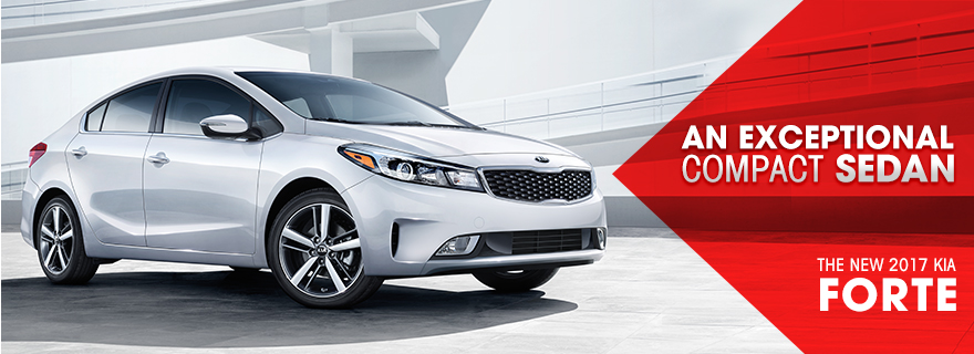 The 2017 Kia Forte is available at Crown Kia of Dublin near Springfield, OH