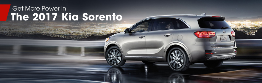 Exterior of the 2017 Sorento at Crown Kia Dublin near Springfield