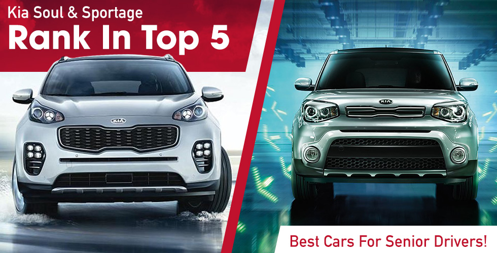 2 Of Top 5 Cars For Seniors Are Kias