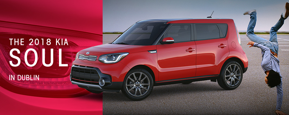 The 2018 Soul is available at Crown Kia of Dublin in Dublin, OH