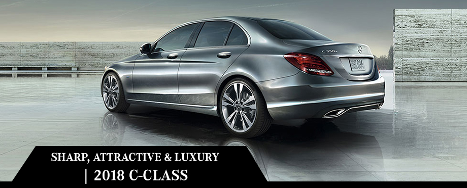 The 2018 C-Class is available at Crown Eurocars of Dublin near Columbus, OH
