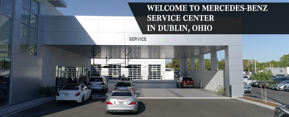 Mercedes Benz Service Center In Dublin OH Serving Columbus And Springfield.