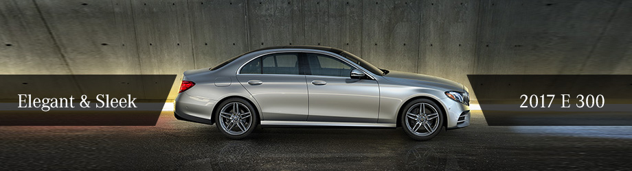 Exterior of the 2017 E 300 at Crown Eurocars of Dublin near Columbus