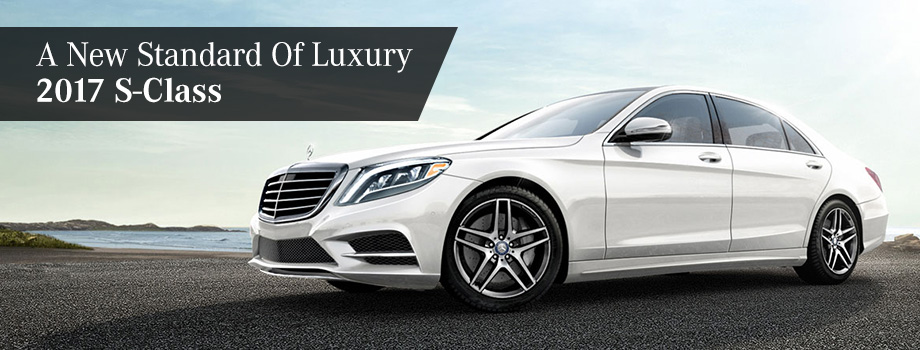 The 2017 S-Class is available at Crown Eurocars of Dublin near Columbus