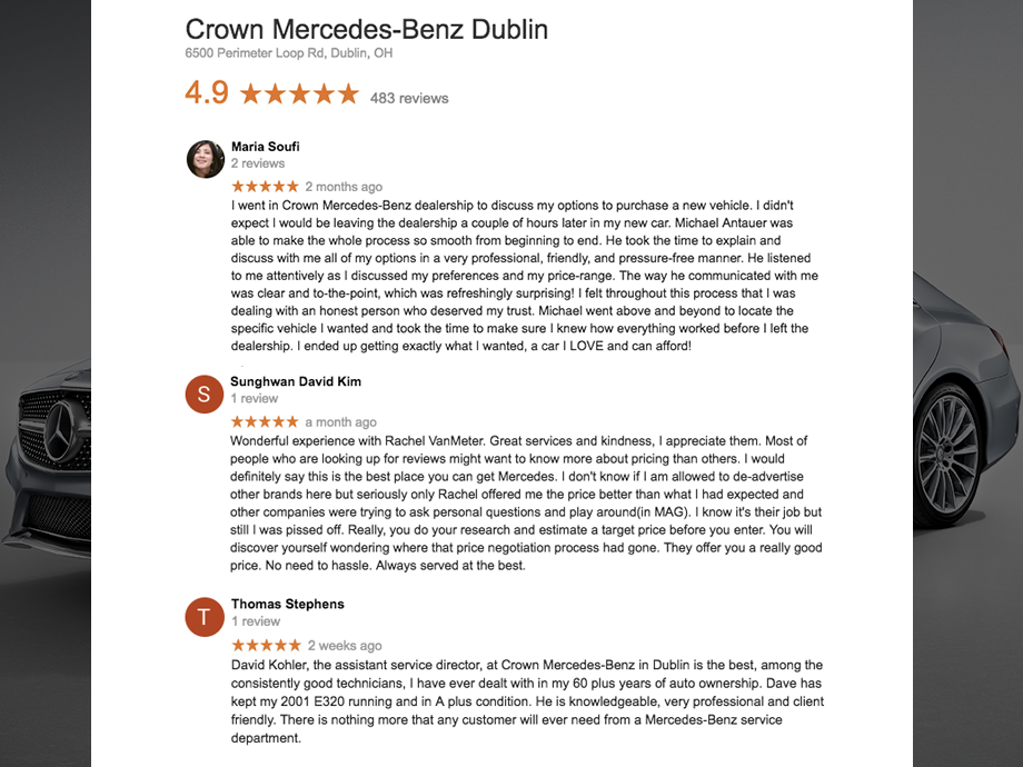 Google Reviews Snippet