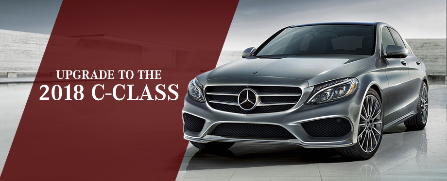 The 2018 C-Class is available at Crown Eurocars in Dublin, OH