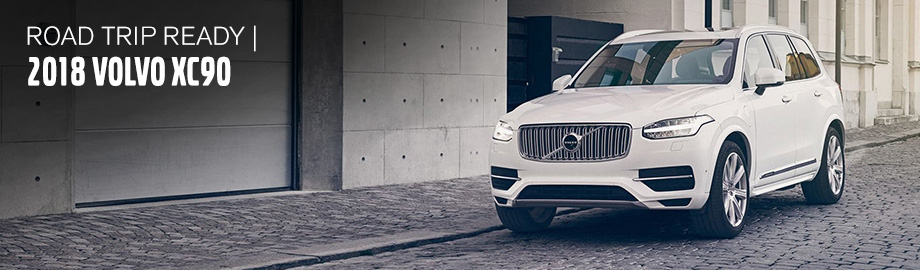 Exterior of the 2018 Volvo XC90 at Crown Volvo Cars near St. Petersburg, FL