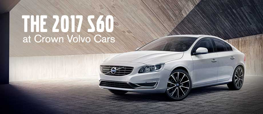 The 2017 S60 is available at Crown Volvo Cars near St. Petersburg