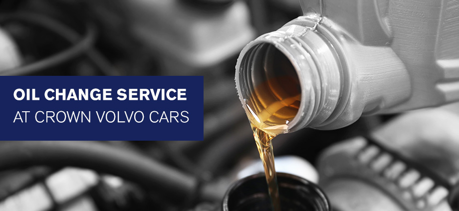 Oil Change Service At Crown Volvo Cars