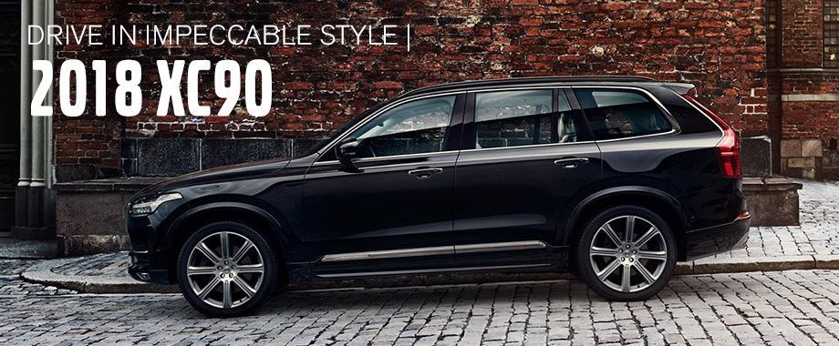 The 2018 Xc90 Is Available At Crown Volvo Cars Near St Petersburg