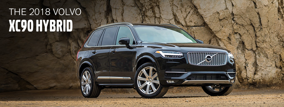 The 2018 Volvo XC90 Hybrid is available at Crown Volvo Cars near St. Petersburg