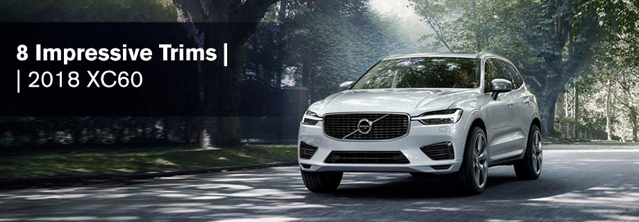 Exterior of the 2018 Volvo XC60 at Capital Volvo near Panama City, FL