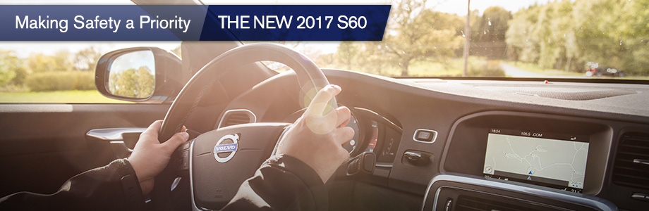 Safety features and interior of the new S60 at Crown Volvo in Tallahassee