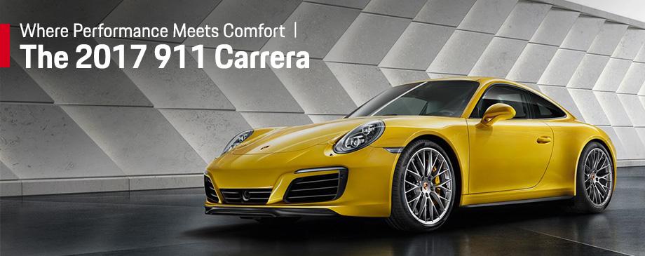 The 2017 911 Carrera is available at Capital Porsche near Panama City