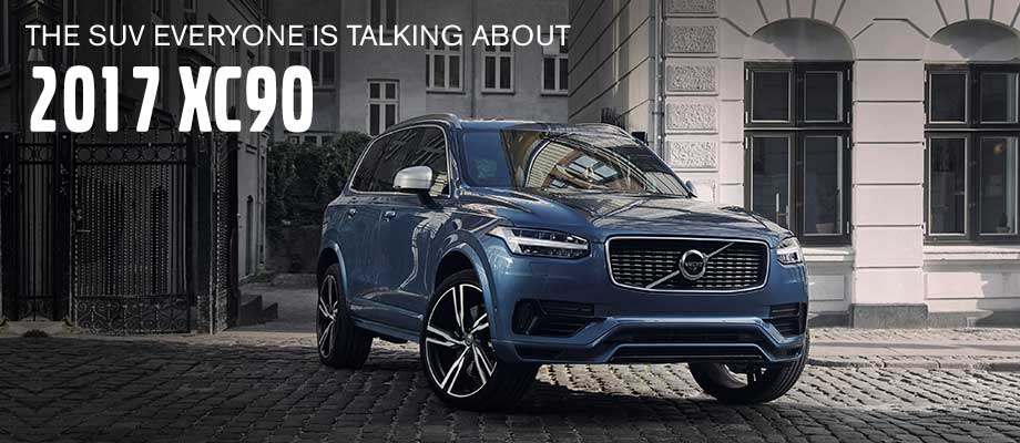 The 2017 XC90 available at Capital Volvo near Panama City