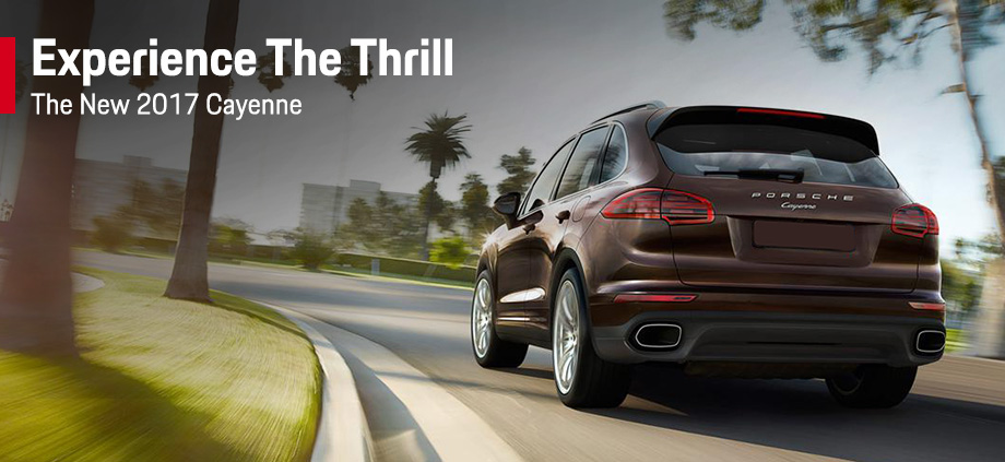 The 2017 Cayenne is available at Capital Porsche near Panama City