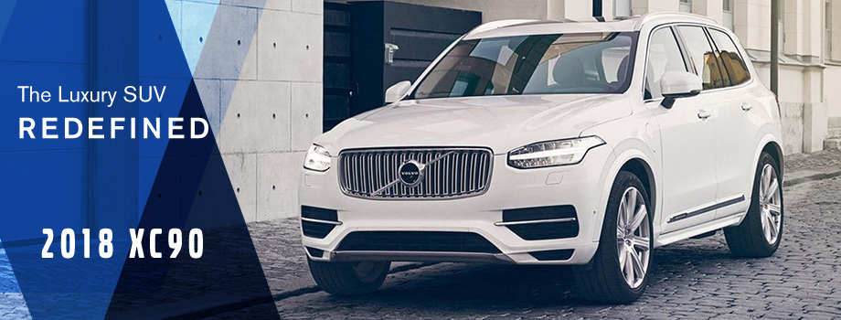 The 2018 XC90 is available at Capital Volvo Cars in Tallahassee