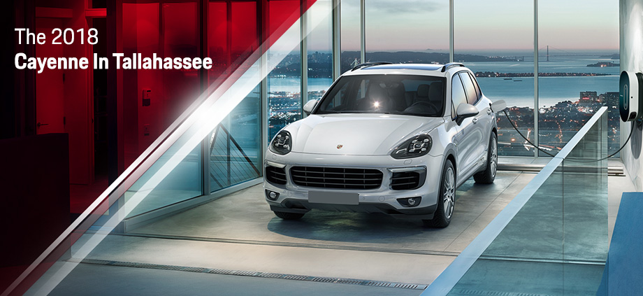 The 2018 Cayenne is available at Capital Porsche in Tallahassee