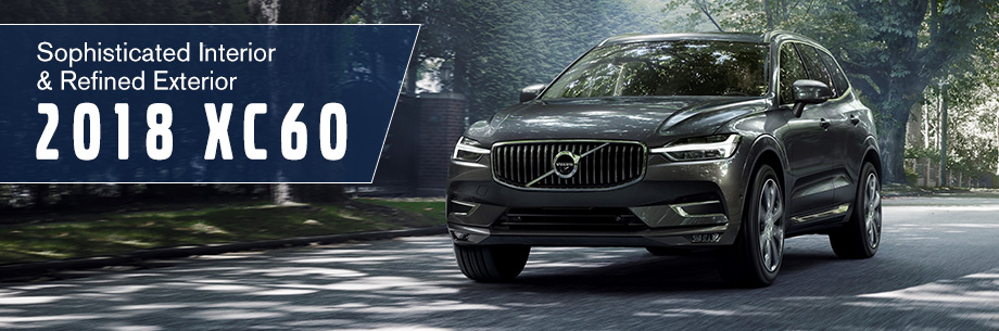 The 2018 XC60 is available at Capital Volvo Cars in Tallahassee