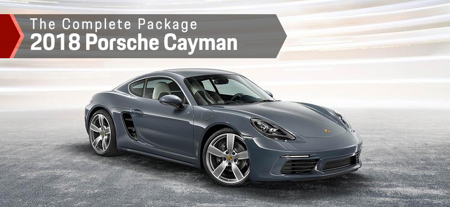 The 2018 Cayman is available at Capital Porsche in Tallahassee