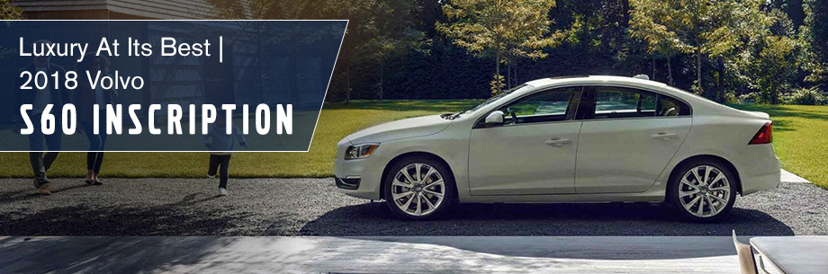 The 2018 Volvo S60 Inscription is available at Capital Volvo Cars in Tallahassee, FL