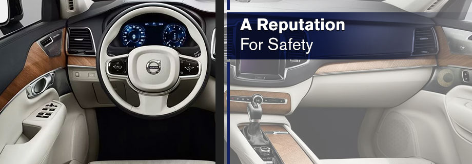 Safety features and interior of the 2018 Volvo XC90 - Available at Capital Volvo Cars in Tallahassee