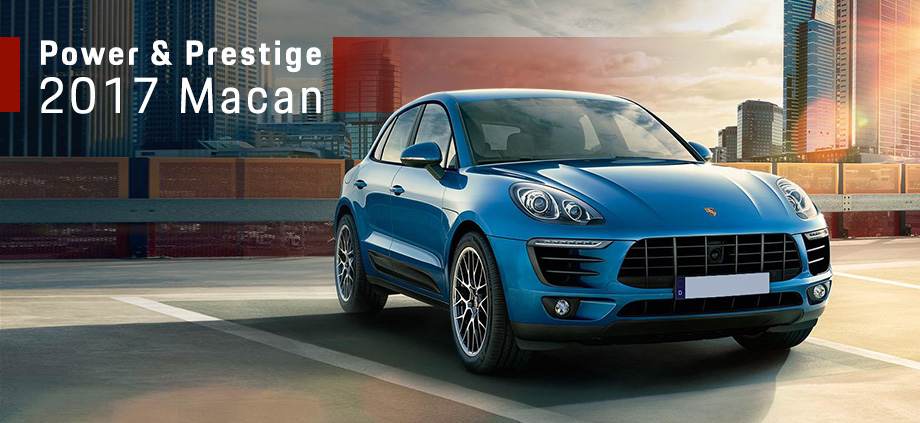 The 2017 Macan is available at Capital Porsche near Tallahassee