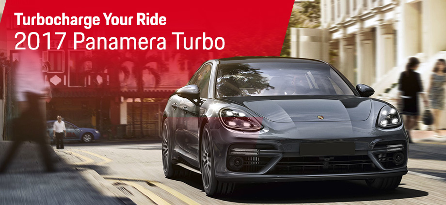 The 2017 Panamera Turbo is available at Capital Porsche in Tallahassee