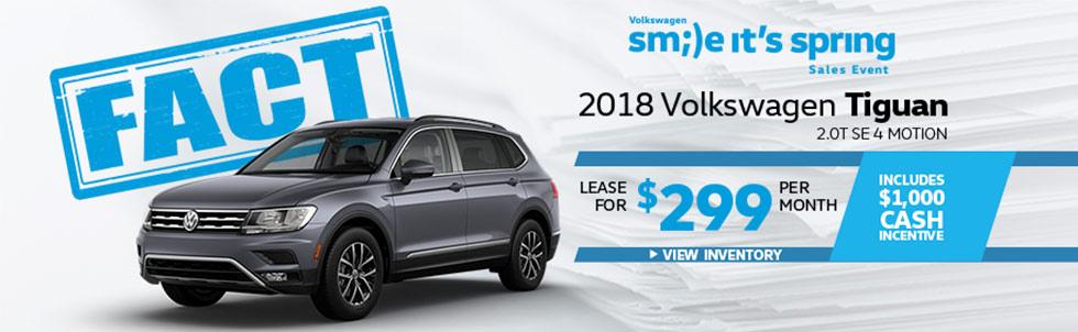 FACT Fremont Motor Company - 2018 Volkswagen Tiguan