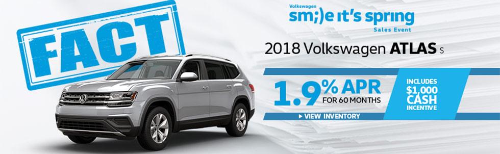 FACT Fremont Motor Company - 2018 Volkswagen Atlas