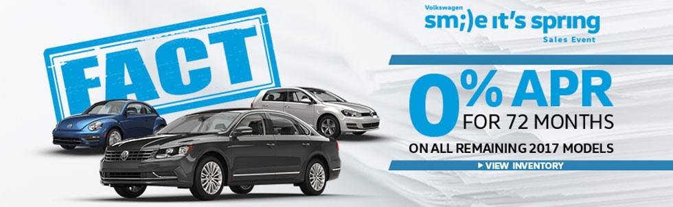 FACT Fremont Motor Company - 0% APR Volkswagen
