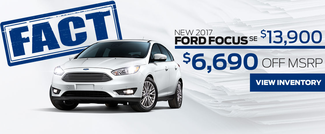 FACT Fremont Motor Company - New 2017 Ford Focus