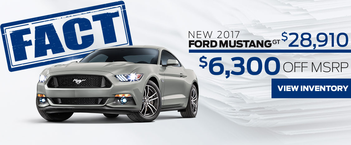 FACT Fremont Motor Company - New 2017 Ford Mustang