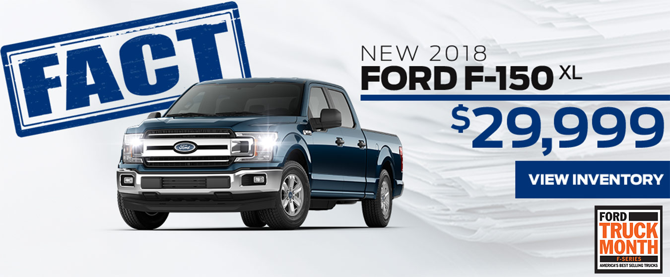 FACT Fremont Motor Company - New 2018 Ford F-150 XL