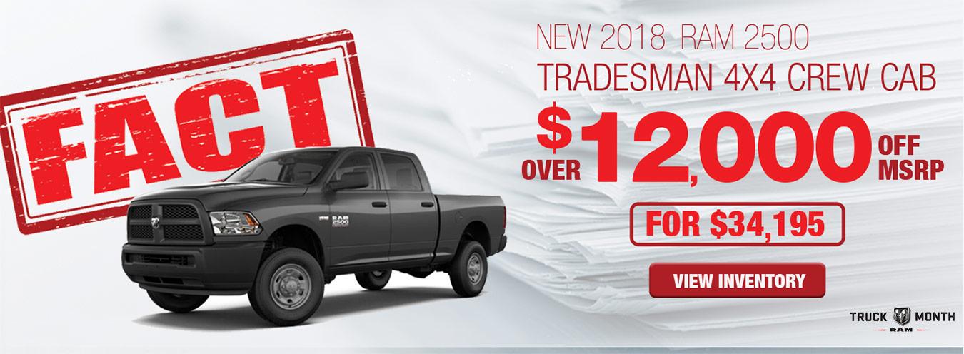 FACT Fremont Motor Company - New 2018 Ram 250