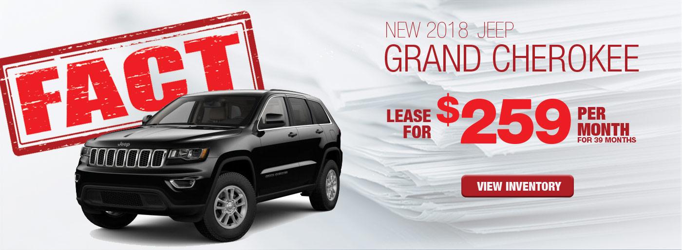 FACT Fremont Motor Company - New 2018 Jeep Grand Cherokee