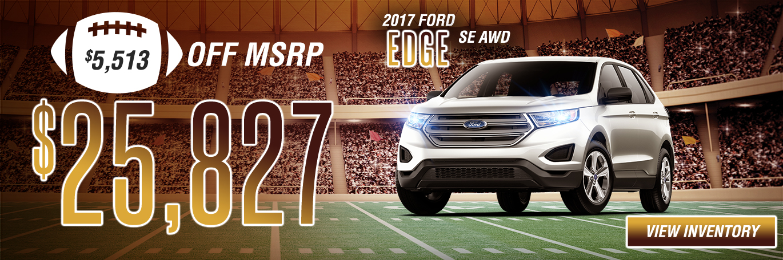 2017 Ford Edge SE AWD