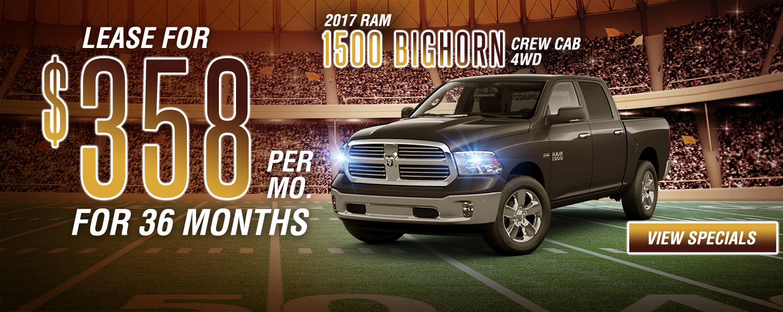 2017 1500 Big Horn Crew Cab