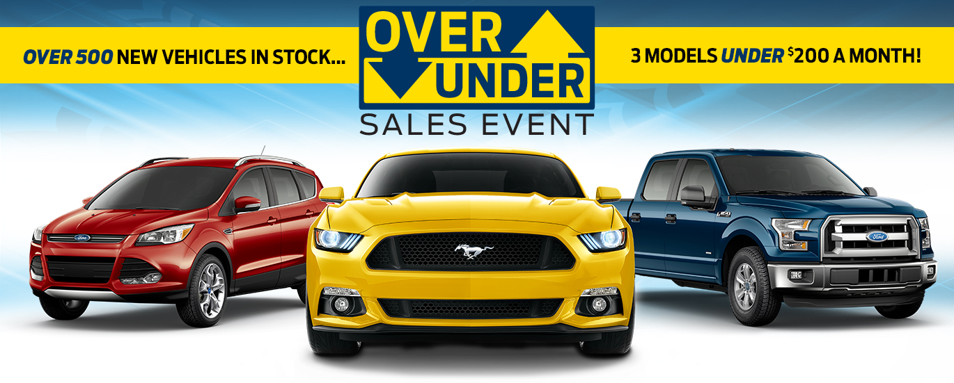 Over Under Sales Event