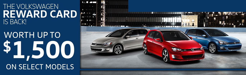 The Volkswagen Reward Card is back!