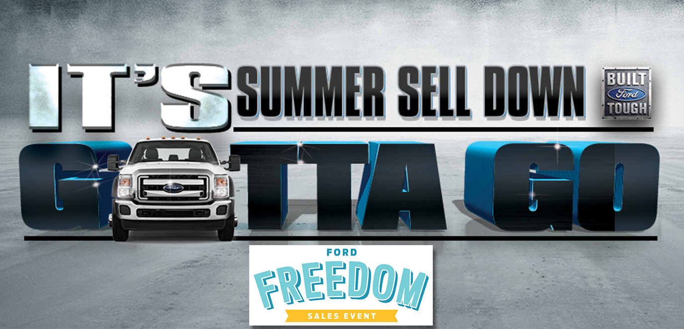 Summer Sell Down, It's gotta go! at Fremont Motors